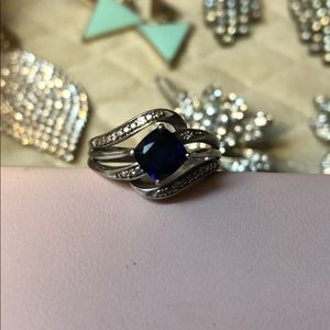 Jewelry - Silver Sapphire Ring